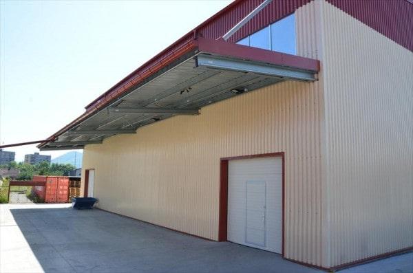 Už druhá skladová hala pre Janegal - Montované oceľové haly LLENTAB