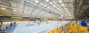 Športová hala na Chodove - dodávame športové oceľvé haly LLENTAB