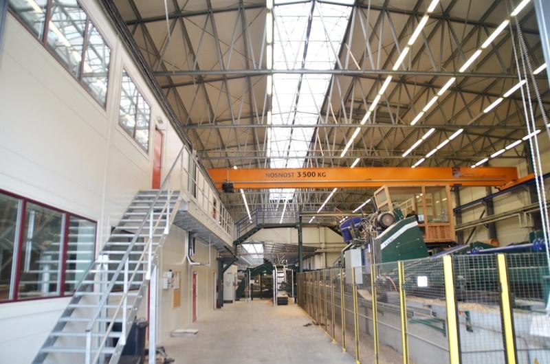 Montované oceľové haly LLENTAB - skladová hala pre MATRIX