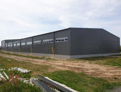 V priebehu júna 2021 sme na Slovensku dokončili nové oceľové haly LLENTAB