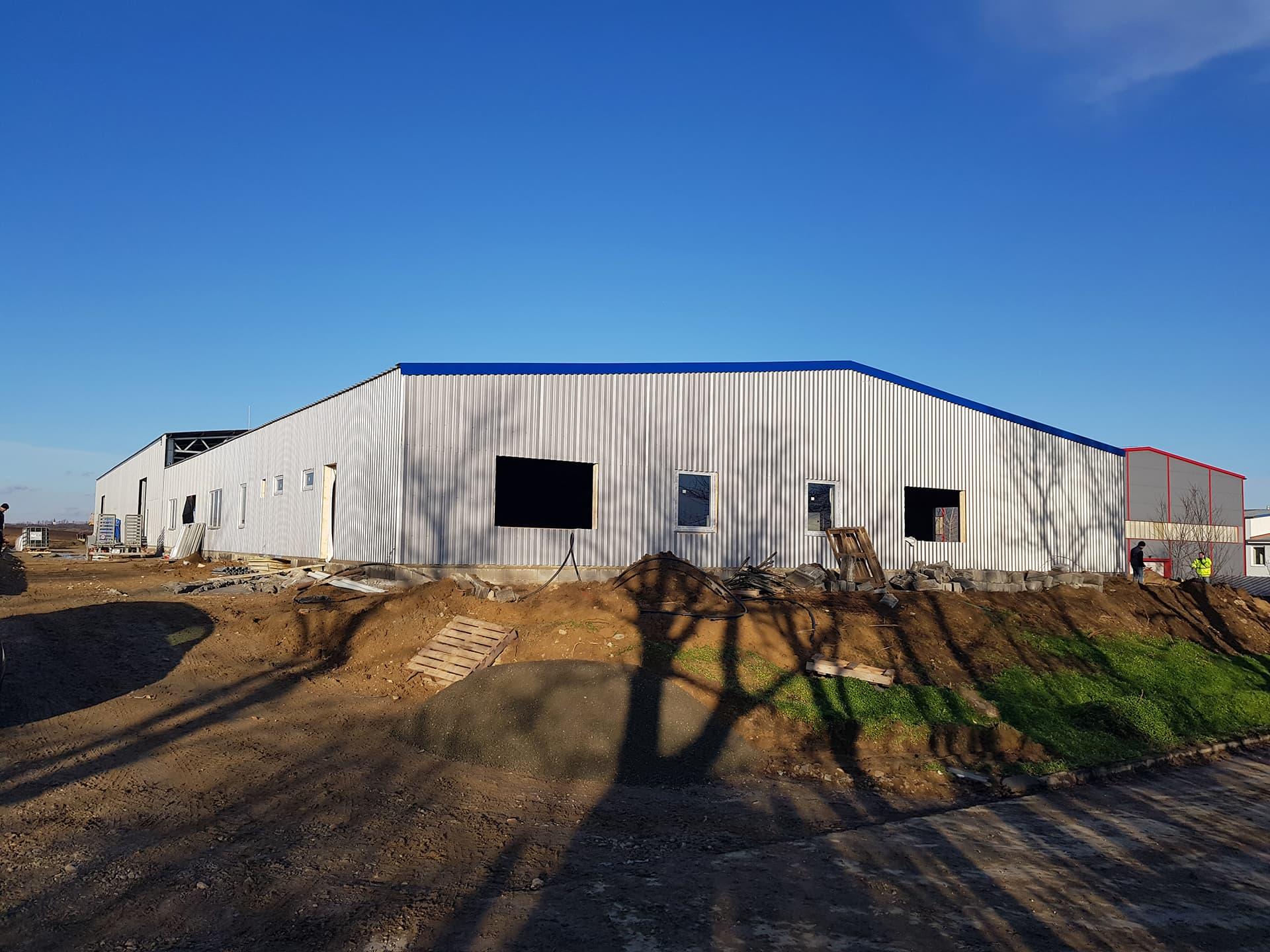 SK0246 SEZAMA NITRA – (Administratívno-výrobná a skladová hala, dokončené 21. decembra 2017)