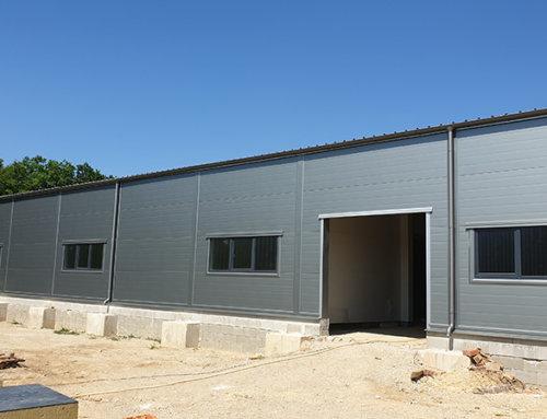 V júli sme dokončili ďalšie nové haly