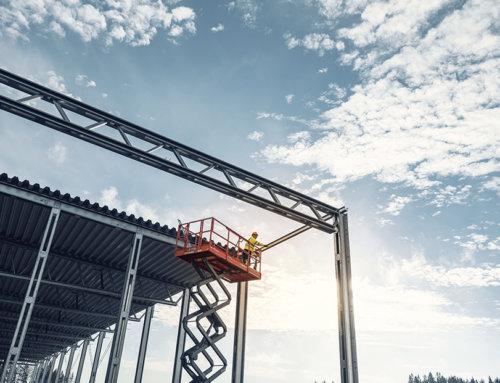 Od augusta montujeme konštrukciu pre novú multifunkčnú športovú halu v Kalnej nad Hronom