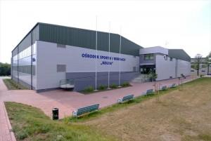 Plavecký štadión v Krakove - dodávateľ LLENTAB oceľové haly