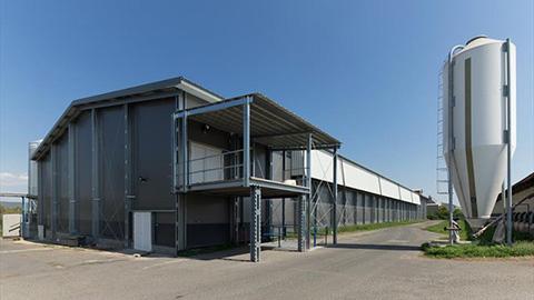 Polnohospodarcke budovy - cena, stavba, vyroba - montovane ocelove haly LLENTAB