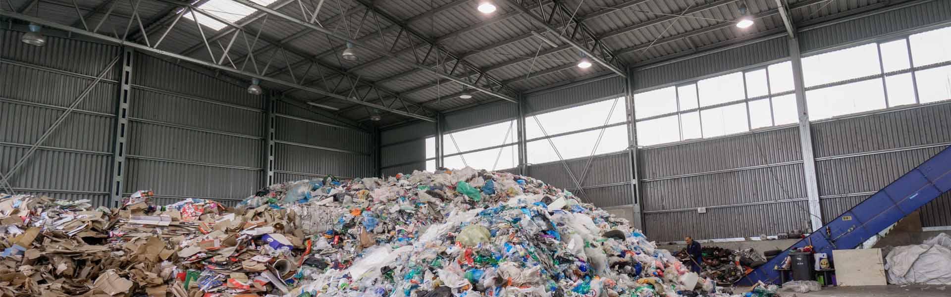 Odpadové haly - výroba a montáž oceľových hál LLENTAB