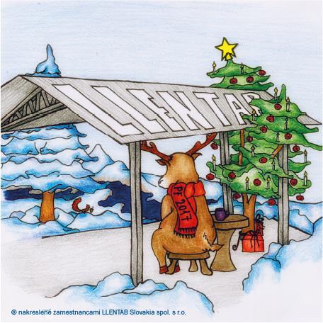 Veselé vianoce s montovanými halami LLENTAB!