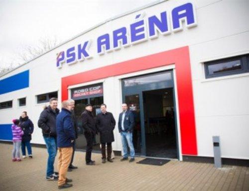 Tretí hokejový štadión LLENTAB na Slovensku