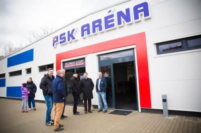 športová hala - výroba a montáž oceľové haly LLENTAB, PSK ARENA