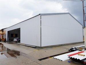 Skladová hala pre výrobcu hliníkových profilov