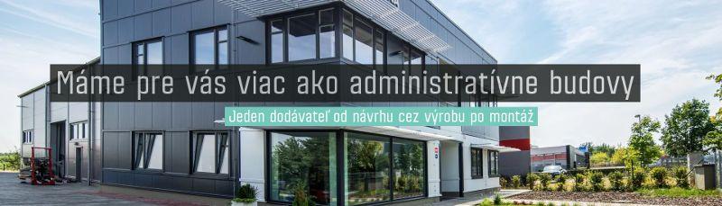 Viac ako administratívne budovy