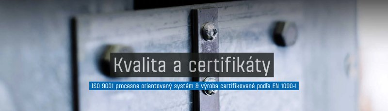 Kvalita a certifikáty