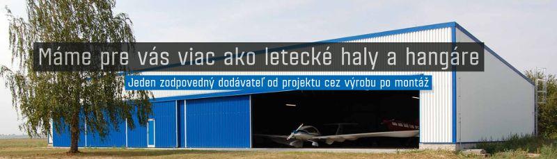 Viac ako letecké haly a hangáre