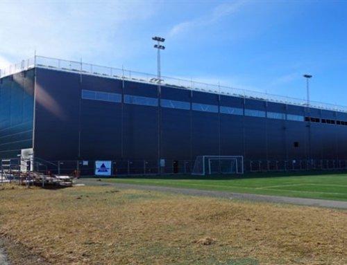Švédska futbalová hala LLENTAB môže byť inšpiráciou aj pre nás