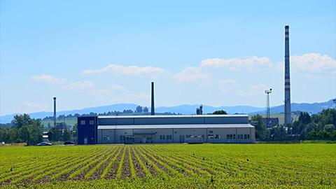 Sonavox - výrobná hala a administratívne zázemie - referencia LLENTAB